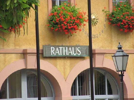 Kavaliersbau (Townhall): detail