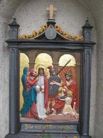 Martinskapelle: calvary