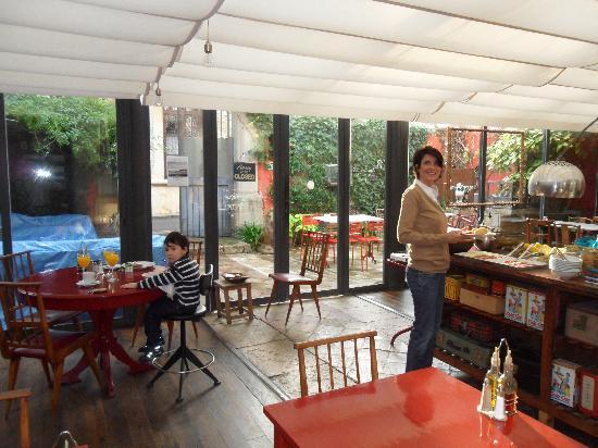 Aiguaclara Hotel: El desayuno