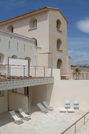 Hotel Genovese : Façade de l'hôtel