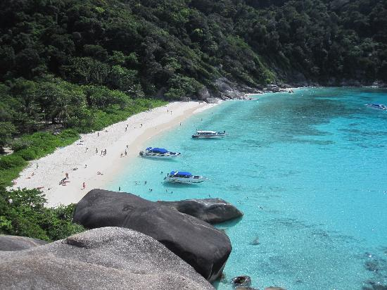 View from the Sailing Rock on Koh Similan - Picture of Similan Islands Nation...