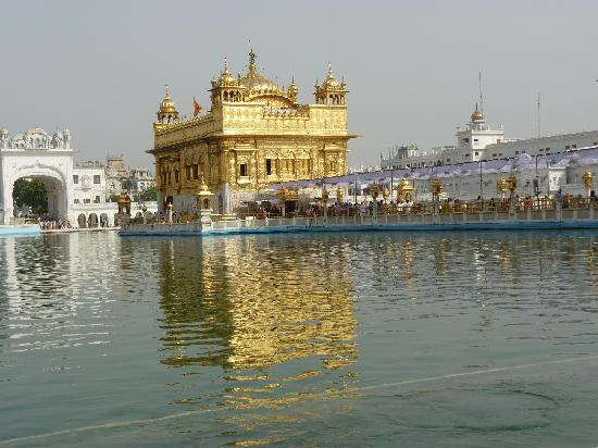 Amritsar, Indien: golden temple
