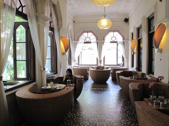 Casa Colombo: gorgeous lobby