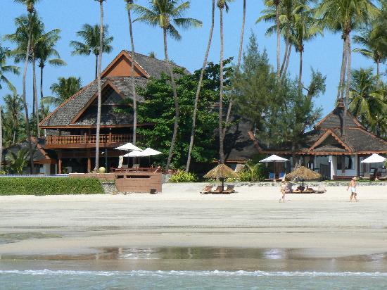 Amazing Ngapali Resort: Ansicht vom Meer aus