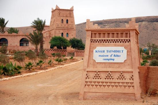 Tan-Tan, Morocco: Ksar Tafidilt entree.