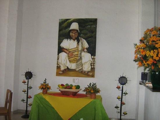 Sansiraka Hotel: mamo arhuaco