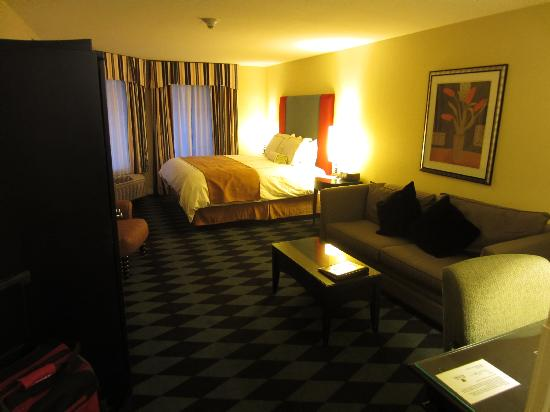 Plaza Inn & Suites at Ashland Creek: Our room
