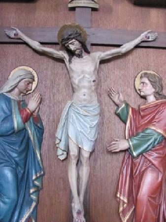 St. Johannes Baptista: crusifiction group
