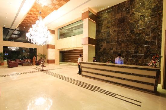 Nadiad, India: Reception lobby