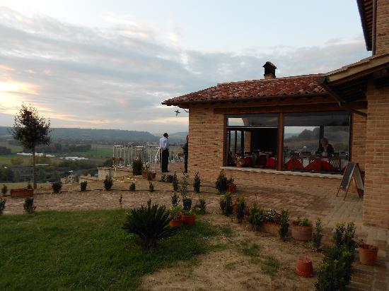 Magliano Sabina, Italien: vista dell'agriturismo