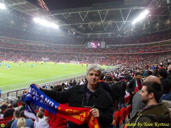 Wembley Stadium: unbelievble for the first timers!