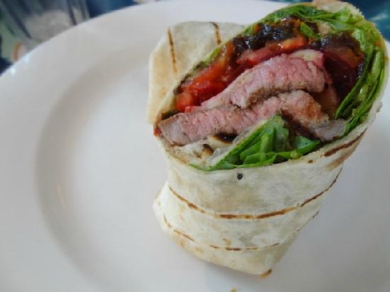 The Rising Sun Bar & Bistro: Steak Wrap