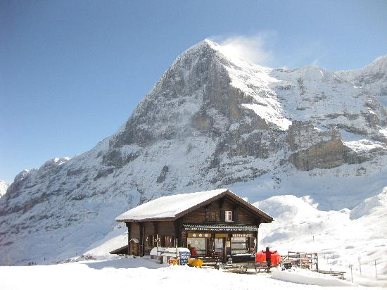 Hotel Seiler au Lac : The mighty north face of the Eiger - October 2011