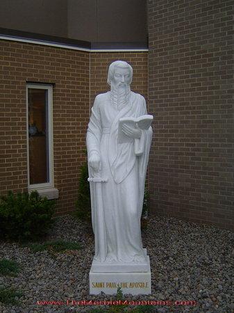 Tu Hung Stone Arts : Stone statue of St Paul