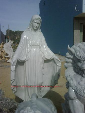 Tu Hung Stone Arts : Stone statue of mother Maria