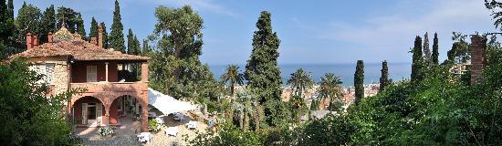 Villa della Pergola: vista
