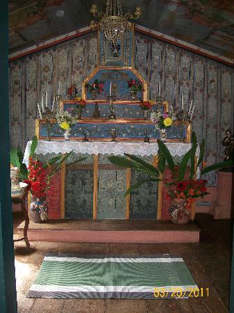 Fazenda Babilônia: capela da fazenda  datada de 1800
