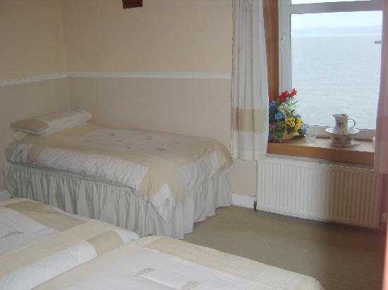 The Merchants House: en-suite bedroom with sea views