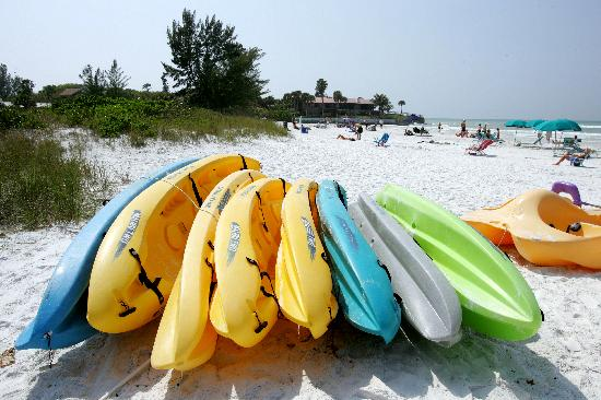 Tropical Beach Resorts: Aquasport rentals available on-site and nearby