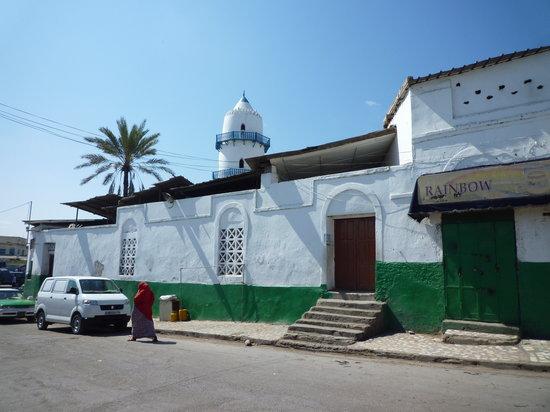 جيبوتي, جيبوتي: モスクの外観