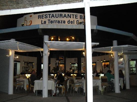 Restaurante Terraza del Gato : Restaurant from outdoor seating area