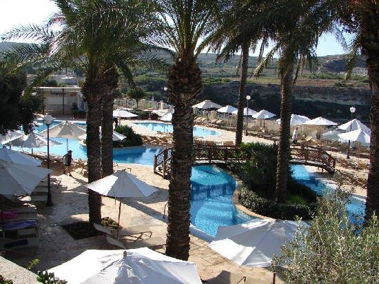 Radisson Blu Resort & Spa, Malta Golden Sands: Lagoon Pool