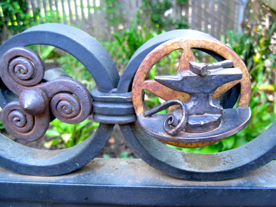 Metal Museum: gate detail