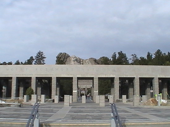 Mount Rushmore National Memorial: entrance