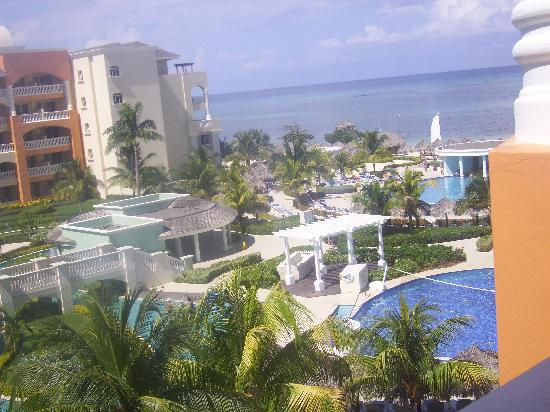 Iberostar Rose Hall Suites: View of half of the resort from our room