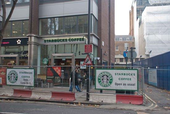 Starbucks Charing Cross Road