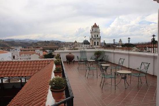 Parador Santa Maria la Real: terrazza panoramica