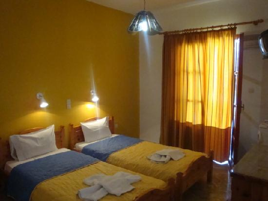 Vassiliki Rooms: double room