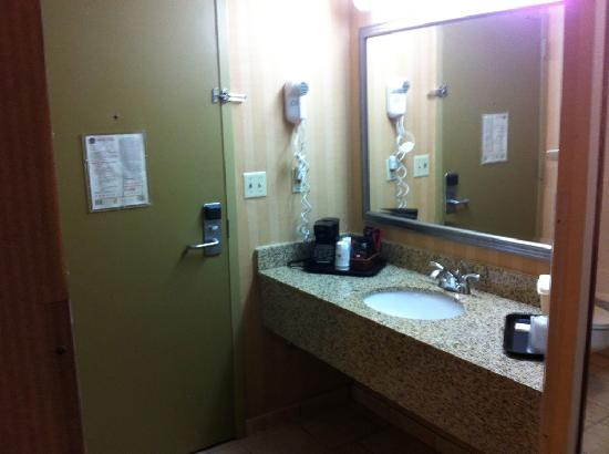"Best Western The Inn at Buffalo Airport: Sink right by the door???? Spock would have said: ""Fascinating!"""