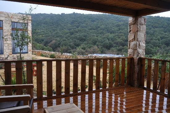 Hamakom Suites: the view