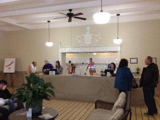 Quapaw Bathhouse: Inside the Main room