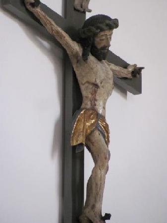 Evangelische St Bartholomaus: crusifix