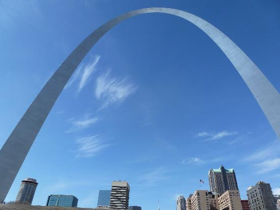 Gateway Arch: Front view of arch
