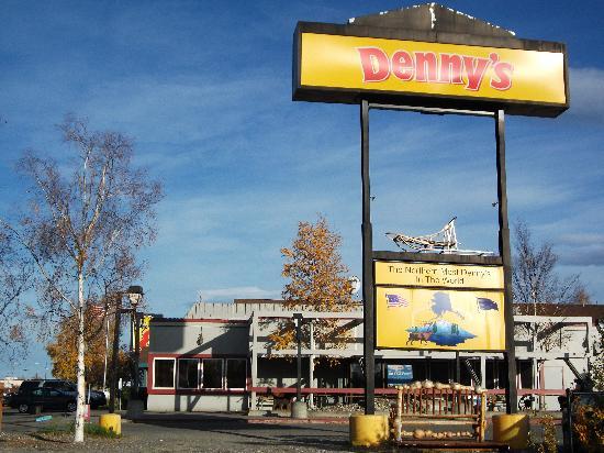Super 8 Fairbanks: next door dennys
