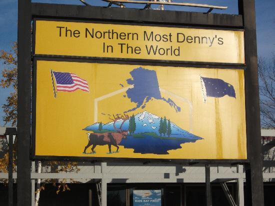 Super 8 Fairbanks: nortern most dennys