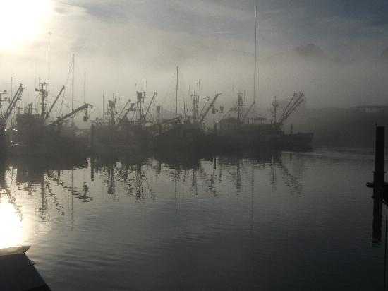 Best Western Valdez Harbor Inn: great view of habour one morning