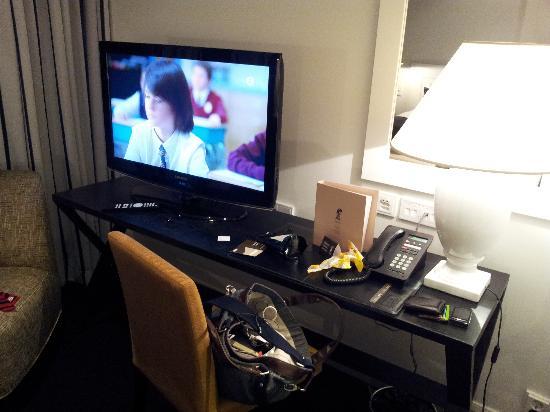 Fabian Hotel: Desk