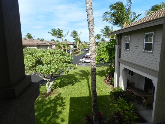 Aston Waikoloa Colony Villas: View of property from upper balcony
