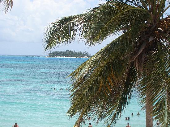 Hotel Bahia Sardina: Johnny Cay desde el balcón