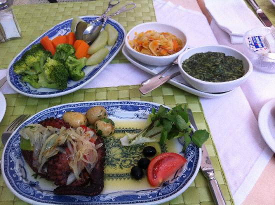 O Celeiro : le plat du jour