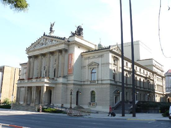 State Opera Prague-The building