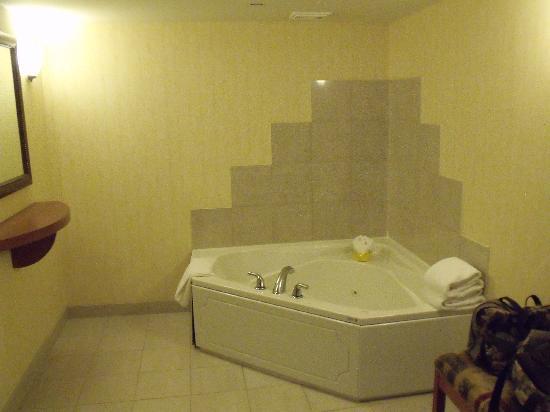 Hilton Garden Inn Saskatoon Downtown: Jacuzzi in Master Bedrom