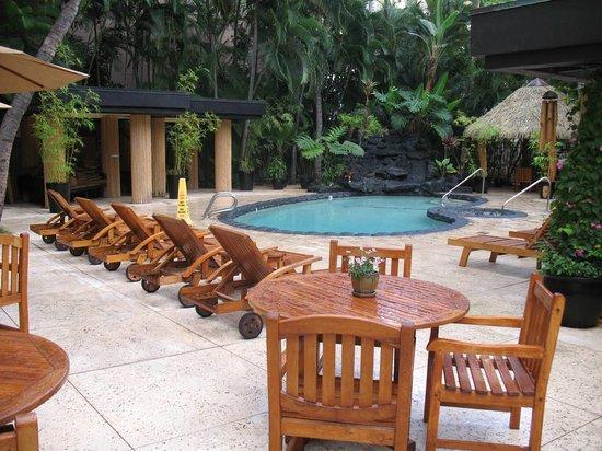 Aqua Bamboo Waikiki : Pool & Garden