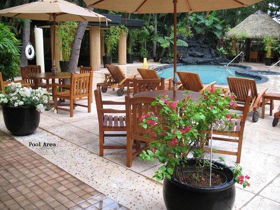 Aqua Bamboo Waikiki : Pool with Waterfall