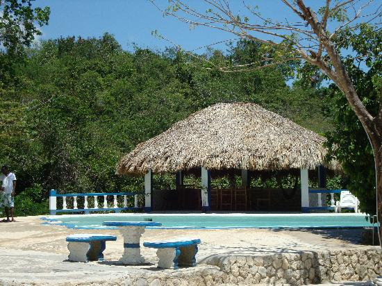 Blue Hole Mineral Spring: The mineral spring fed pool