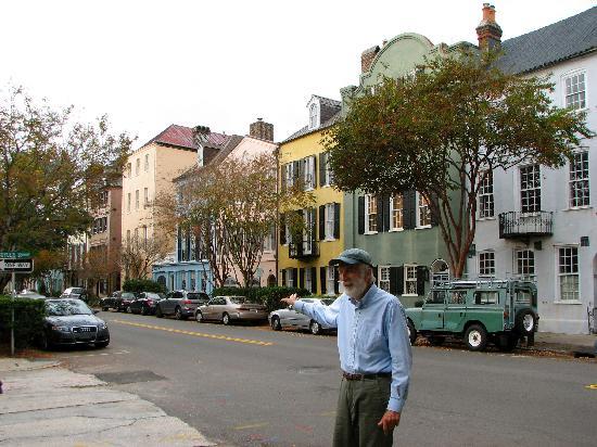 Ed Grimball's Walking Tour of Historic Charleston: Rainbow Row with Ed